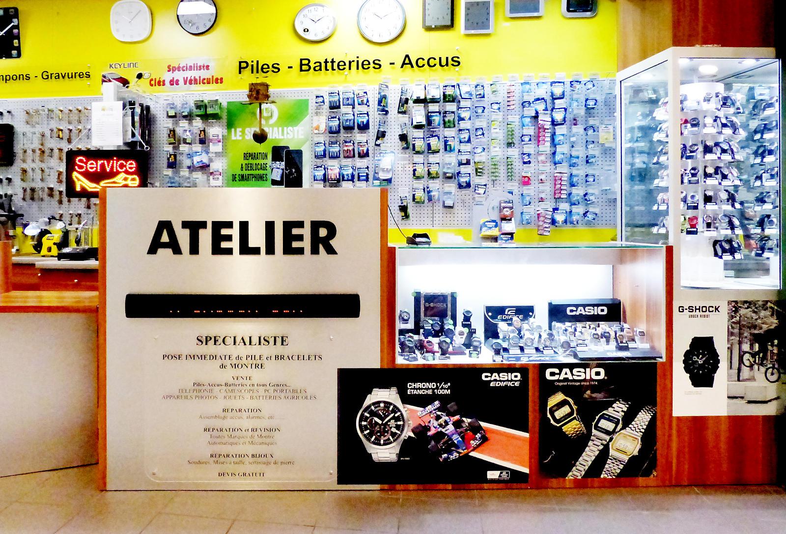 Pil'Vite, Tourcoing - Atelier réparation montres et bijoux.