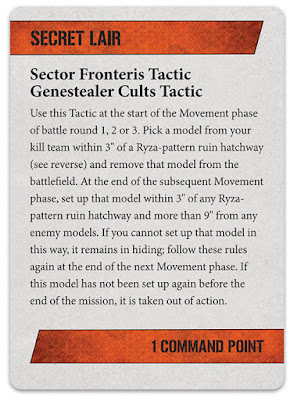 Sector Fronteris Táctica Cultos Genestealer