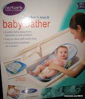 alat mandi bayi, baby bather, carter baby bath, peralatan mandi bayi
