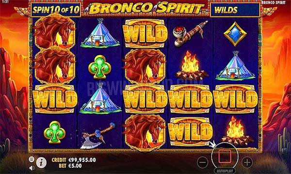 Main Gratis Slot Indonesia - Bronco Spirit (Pragmatic Play)