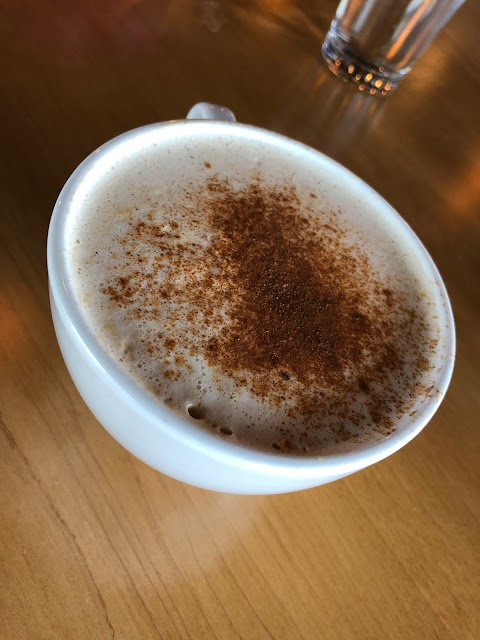 Heavenly cinnamon chai tea latte at Grace. The cinnamon is EVERYTHING!