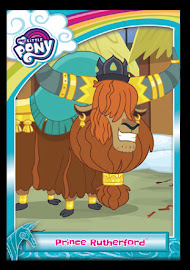 My Little Pony Prince Rutherford Series 5 Trading Card