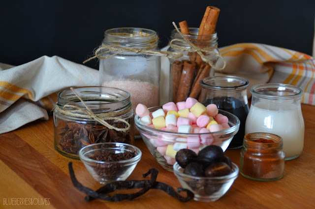 INGREDIENTS - SPICED HOT CHOCOLATE