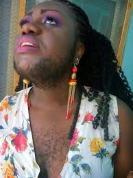 Hair Everywhere! Nigeria's Hairiest Lady Shows Off Her Huge and Hairy Boobs in New Photos
