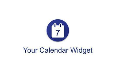 your calendar widget pro apk