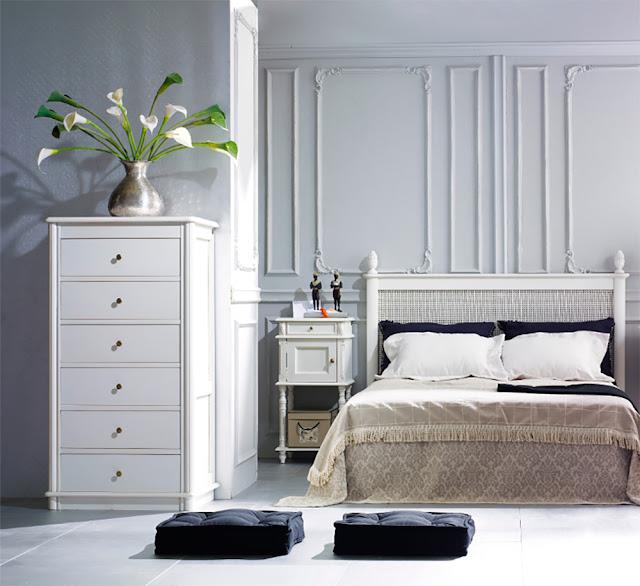 Muebles de dormitorio cabeceros para dormitorios romanticos - Cabeceros de cama romanticos ...