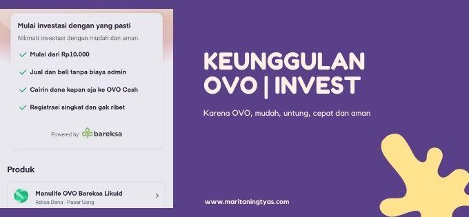 keunggulan dan manfaat OVO | Invest