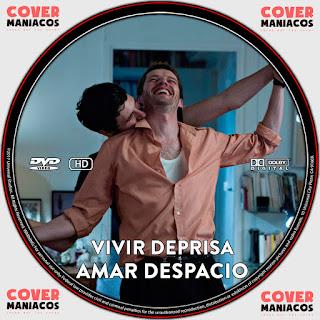 GALLETA VIVIR DEPRISA AMAR DESPACIO 2019[COVER DVD]