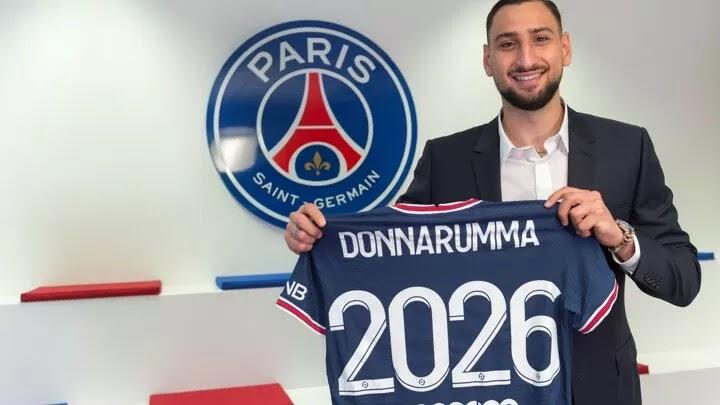 OFFICIAL: Gianluigi Donnarumma joins Paris Saint-Germain