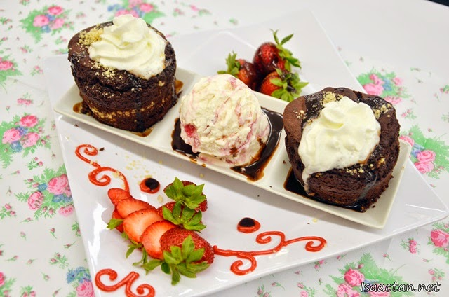 Lovely brownie desserts