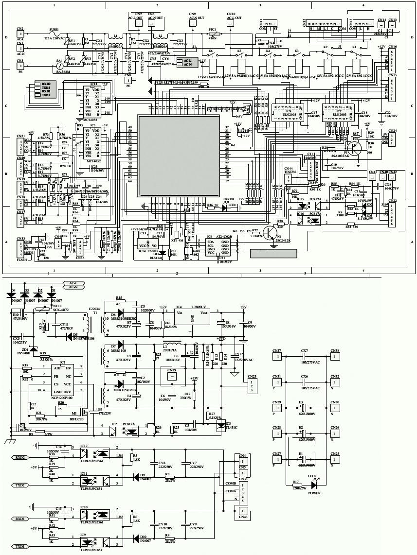 hight resolution of dc inverter ac haier hsu hea wiring diagram circuit outdoor unit control board circuit diagram