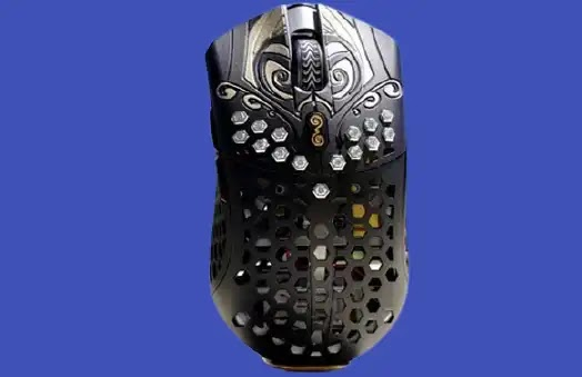 "A diamond-studded gaming mouse ""only"" for a million dollars"