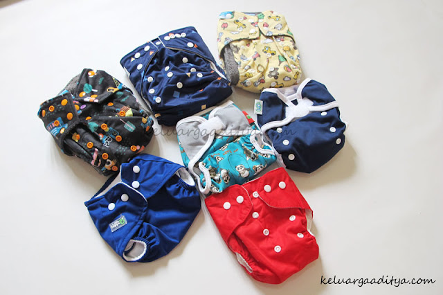 clodi cloth diaper untuk bayi