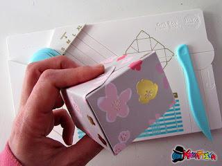scatola porta confetti con la Punch Board Gifs Box
