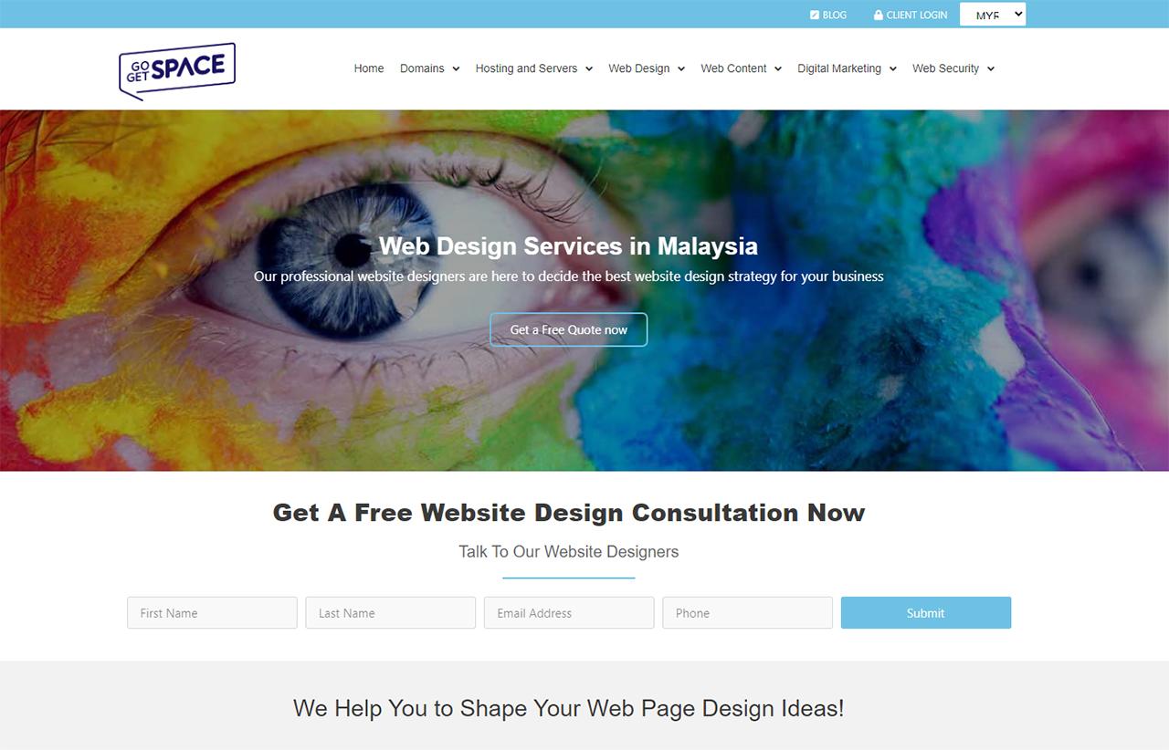 Website Design Malaysia Go Get Space
