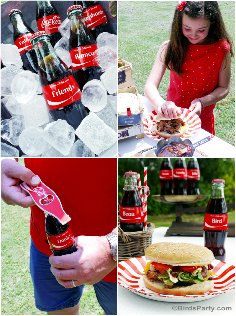 BBQ Party Food and Drinks Ideas  #ShareaCokeContest