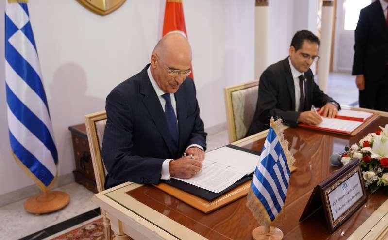 Αναρτήθηκε στον ΟΗΕ η συμφωνία μεταξύ Ελλάδας και Αιγύπτου