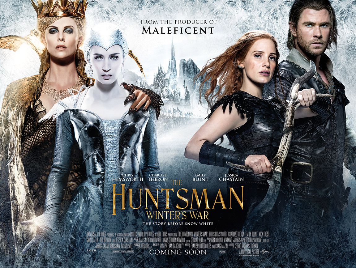 the huntsman winters war movie review