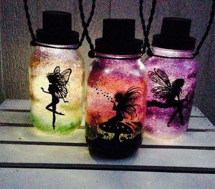 Recicla frascos de vidrio y convi rtelos en lamparas de for Reciclar frascos de vidrio de cafe