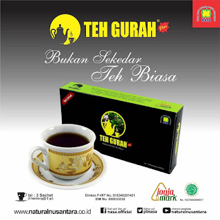 teh gurah nasa minuman herbal
