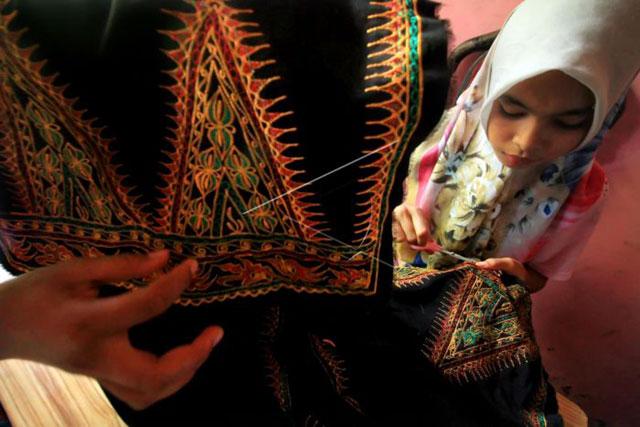 Songket Lhokseumawe Aceh