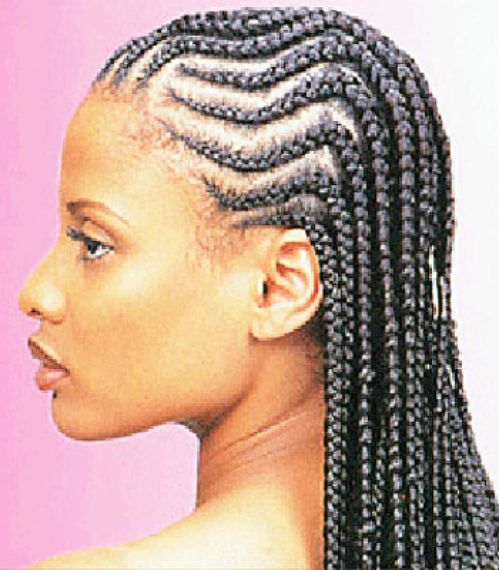 French Braid Styles For Black Hair