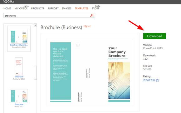 Microsoft Publisher Catalog Templates free brochure for word all – Free Brochure Templates for Word 2007