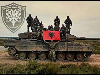 Αλβανικός στρατός θα περάσει μέσα από την Ελλάδα. Να βγούμε στα μπαλκόνια να τους... καμαρώσουμε!