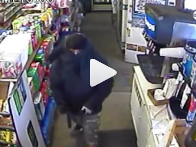 ARMED ROBBERY FOOTAGE: See What a Man Did to Armed Robbers After Pointing Gun at Him. VIDEO