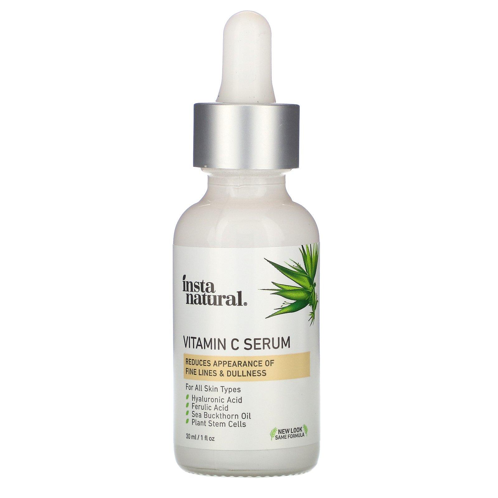 InstaNatural, сыворотка с витамином C, 30 мл (1 жидк. унция)