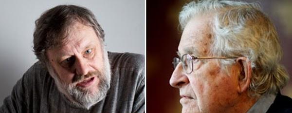 Noam Chomsky y Slavoj Zizek : guerra de declaraciones