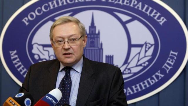 Rusia cancela reunión diplomática con EEUU por nuevos embargos