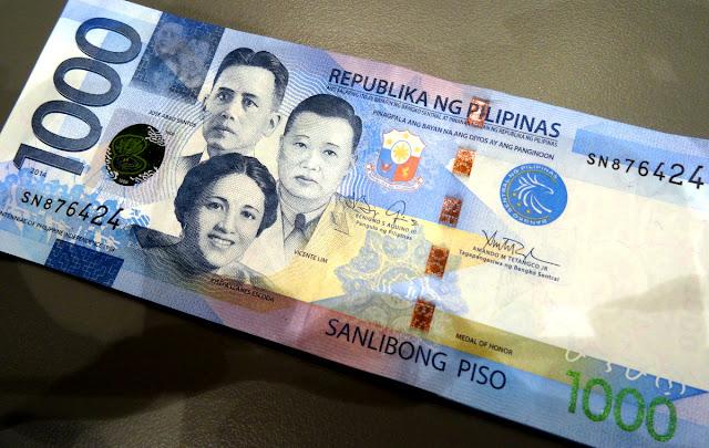 1000 pesos