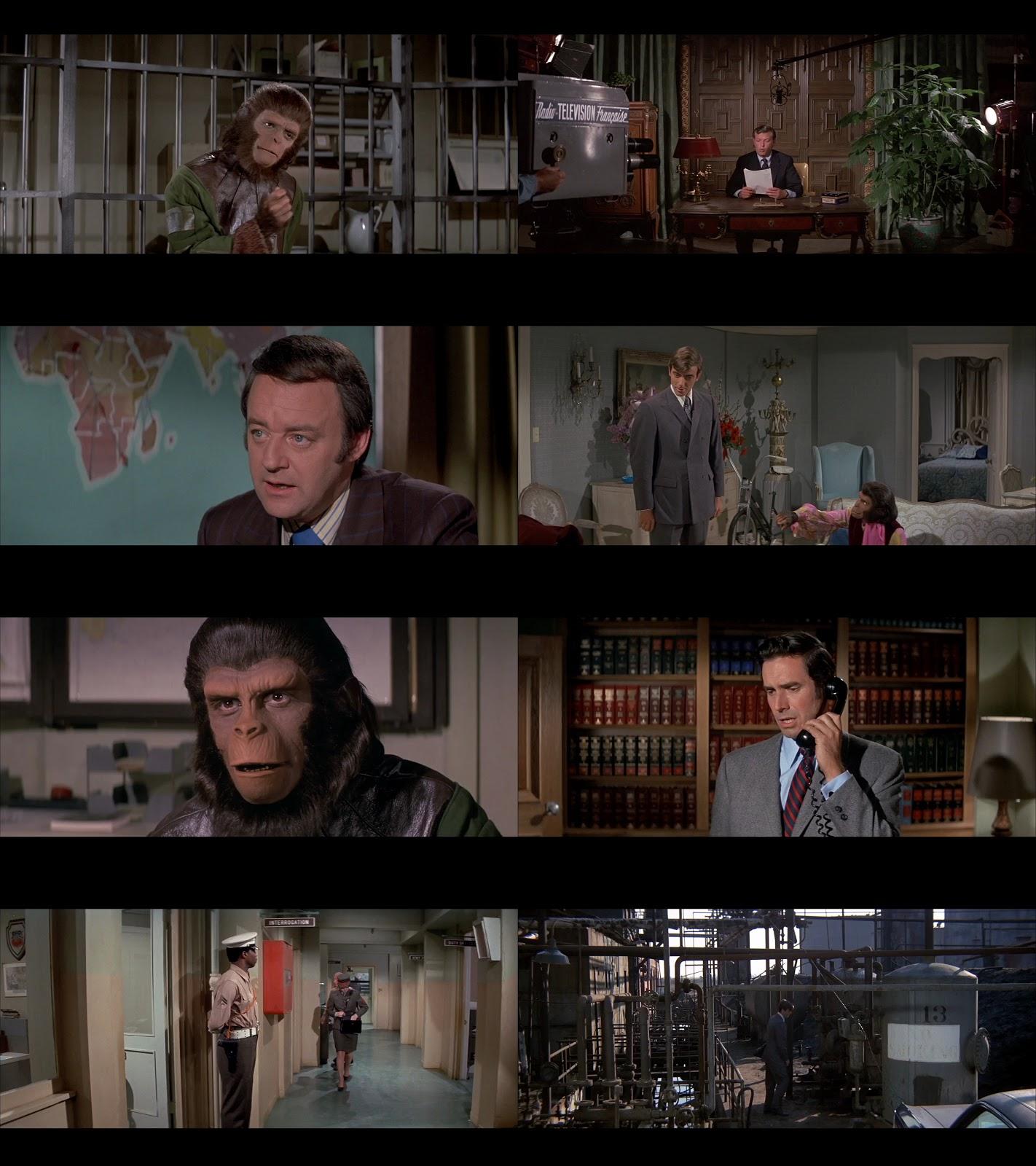 Resultado de imagen para Escape Del Planeta De Los Simios (1971) captura