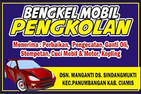 Contoh Spanduk Bengkel Motor atau Mobil.cdr - KARYAKU