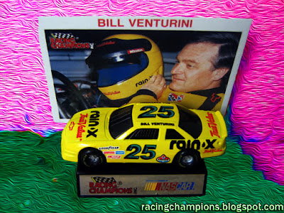 Bill Venturini #25 Rain X True Value Racing Champions 1/64 NASCAR diecast blog BGN Wendy