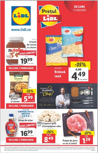 LIDL Catalog - Brosura 01-07.02 2021→ Aktiveaza Cupoanele