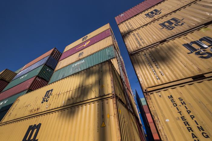 merikonttien varastointi helsingin satama mediterranean shipping_