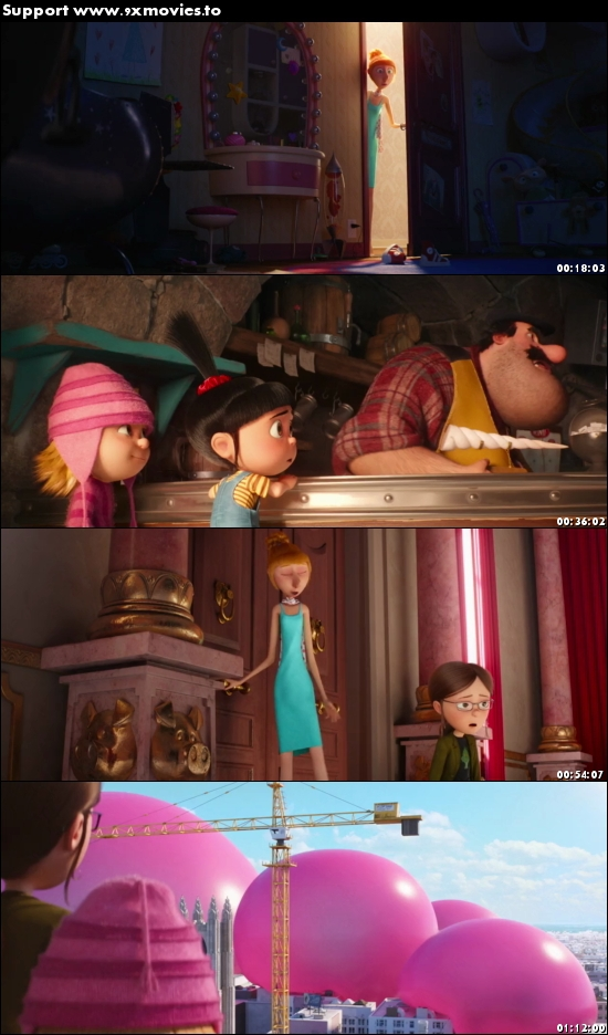 Despicable Me 3 2017 English 480p WEB-DL 300MB