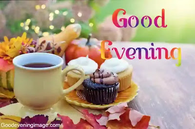 Good evening with coffee and snacks