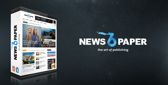 Download Free Newspaper v6.2 Responsive WordPress News/Magazine Theme