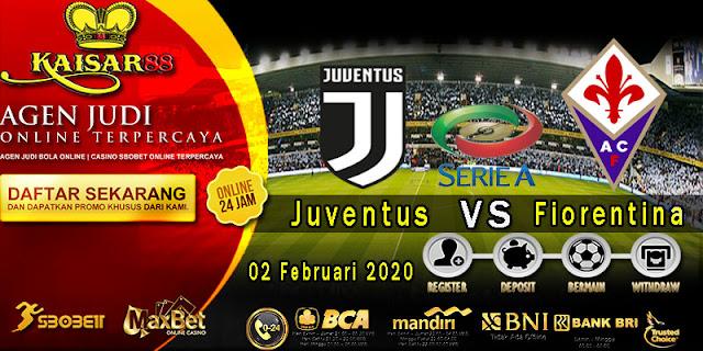 Prediksi Bola Terpercaya Liga Italia Juventus vs Fiorentina 2 Februari 2020