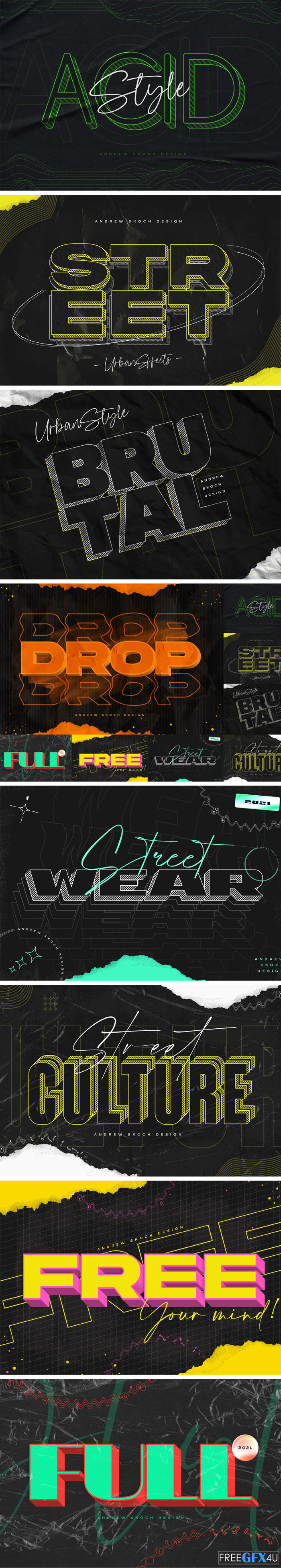 Urban Text Effects