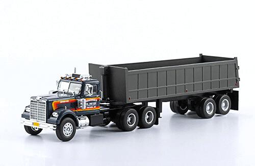 Western Star 4864 1:43 quarries lkn, camiones 1:43, camiones americanos 1:43, coleccion camiones americanos 1:43, camiones americanos 1:43 altaya españa