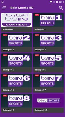 طبيق bein sport مكرك للاندرويد أفضل تطبيق لمشاهدة المباريات مباشرة beIN SPORTS برنامج مشاهدة قنوات bein sport على الكمبيوتر 2021 تحميل تطبيق مشاهدة قنوات بي ان سبورت للاندرويد