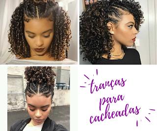 3 tendências de trança para cabelos cacheados