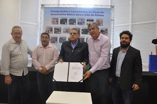Sabesp inaugura obras e anuncia investimentos de R$ 65 milhões no Vale do Ribeira