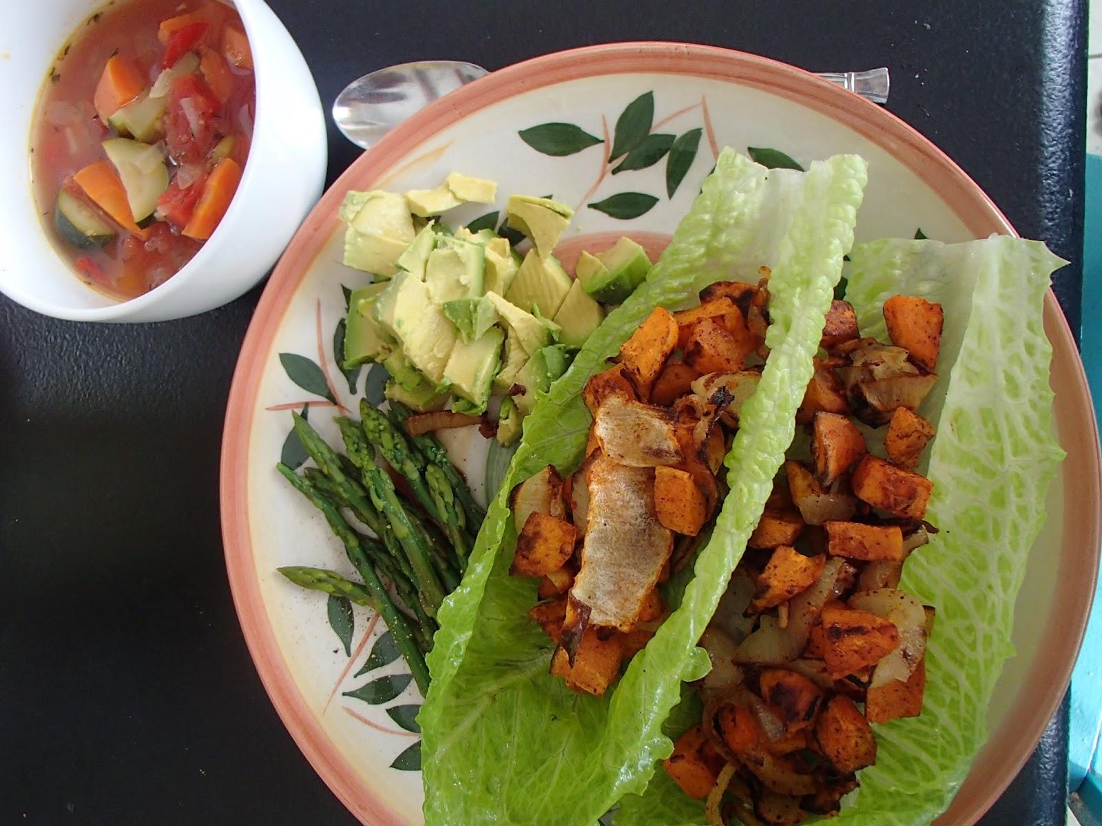 The Yogic Kitchen: Whole30 Vegetarian Day 4: Sweet Potato ...