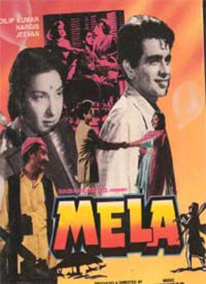 Poster Of Hindi Movie Mela (1948) Free Download Full New Hindi Movie Watch Online At worldfree4u.com