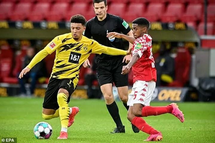 Chelsea ready to launch £80m offer to Dortmund for Man Utd target Jadon Sancho